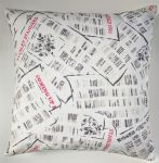 "Cushion Cover in Cath Kidston Newspaper Print 14"" 16"" 18"" 20"""